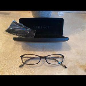 Ralph Lauren eyeglasses with Versace case